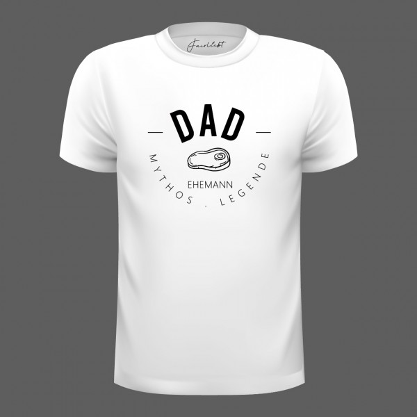 "T-Shirt weiß ""DAD"""