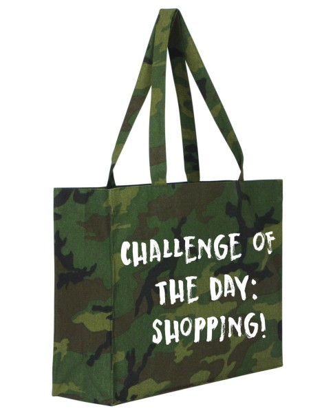 Shopper camouflage, Challenge of the day