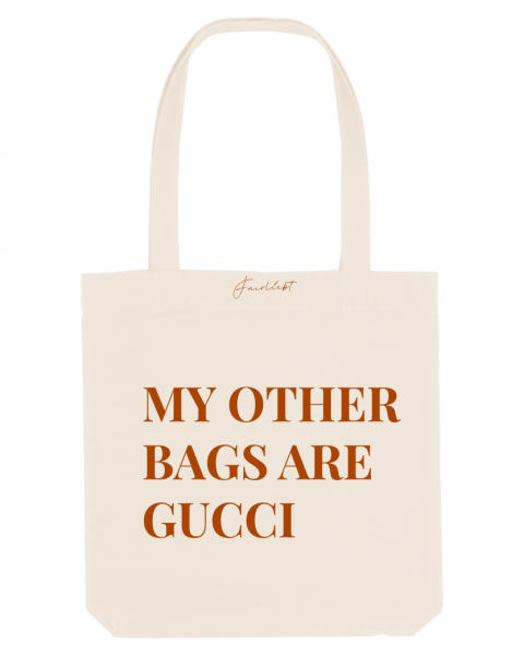 Tasche natur, My other bags are Gucci