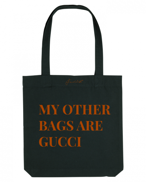 Tasche schwarz, My other bags are Gucci